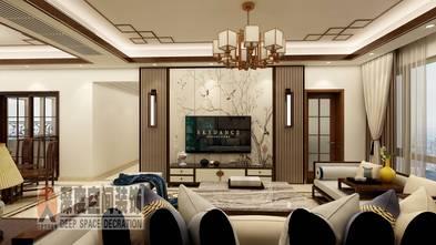 经济型110平米三室两厅中式风格客厅欣赏图