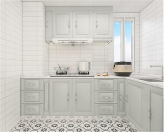 70平米法式风格厨房图片大全