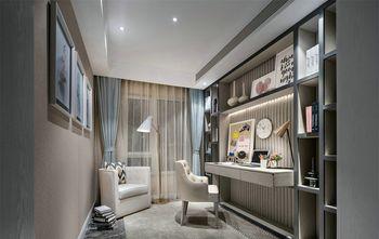10-15万120平米三室一厅港式风格书房装修案例