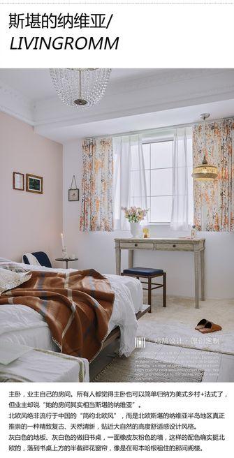 3万以下120平米三室一厅法式风格卧室装修案例