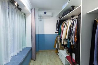 富裕型90平米三室一厅北欧风格衣帽间图片大全