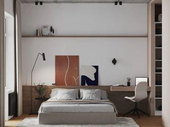 富裕型40平米小户型现代简约风格卧室图