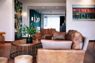 经济型110平米三室两厅新古典风格客厅装修图片大全