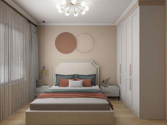 富裕型110平米三室两厅现代简约风格卧室图
