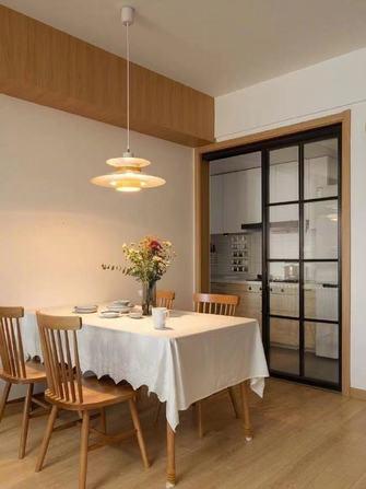 富裕型100平米三室两厅日式风格餐厅装修图片大全