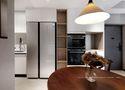 经济型60平米一居室混搭风格厨房欣赏图
