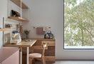 富裕型120平米三室两厅北欧风格书房效果图