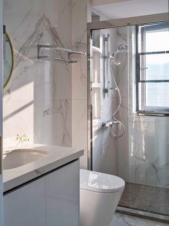 130平米三室一厅新古典风格卫生间装修案例