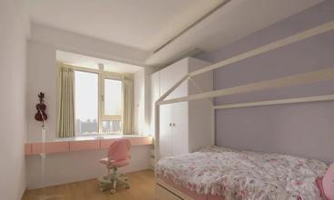 100平米三田园风格青少年房设计图