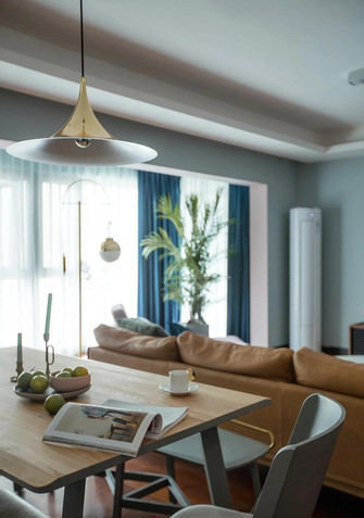10-15万120平米三室两厅北欧风格餐厅图