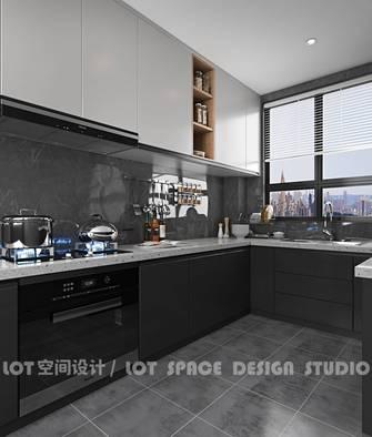 3-5万140平米三工业风风格厨房设计图