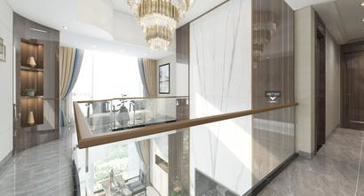 120平米三中式风格楼梯间欣赏图