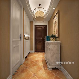 豪华型140平米四室两厅美式风格玄关装修图片大全