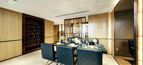 20万以上140平米四室一厅现代简约风格餐厅图片