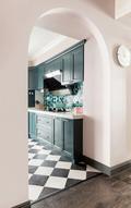 富裕型120平米三室两厅法式风格厨房图片大全