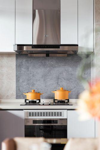 20万以上120平米三室一厅轻奢风格厨房装修效果图