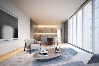 20万以上90平米三室一厅现代简约风格客厅图片大全