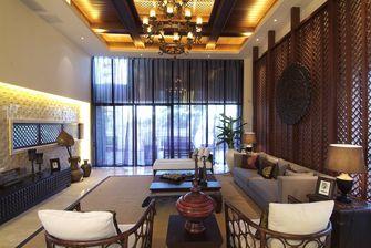 豪华型120平米三东南亚风格客厅设计图