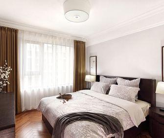 经济型100平米三室一厅美式风格卧室装修案例