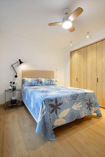 豪华型50平米一室一厅现代简约风格卧室图