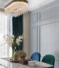 10-15万110平米公寓轻奢风格餐厅装修效果图