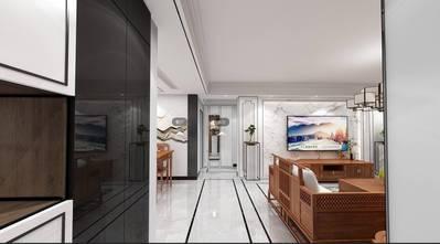 140平米三中式风格客厅图