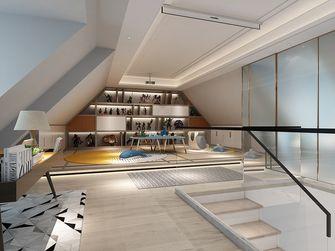 豪华型140平米三室一厅轻奢风格阁楼图片