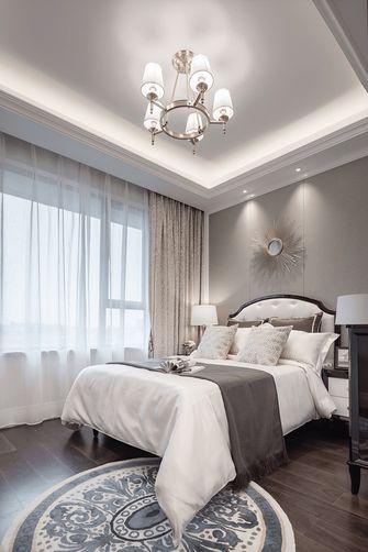 富裕型140平米三室两厅欧式风格卧室设计图
