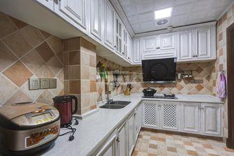 140平米四室四厅美式风格厨房图片