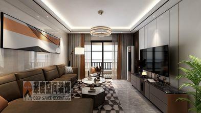 5-10万120平米四室两厅现代简约风格客厅欣赏图