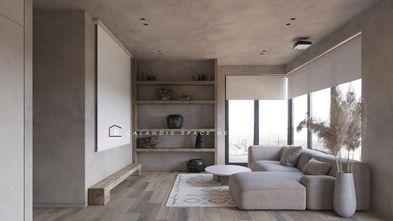 富裕型140平米三室一厅日式风格客厅图片