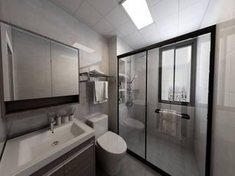 20万以上140平米三室一厅现代简约风格卫生间装修图片大全