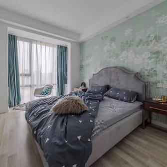 富裕型60平米复式现代简约风格卧室欣赏图
