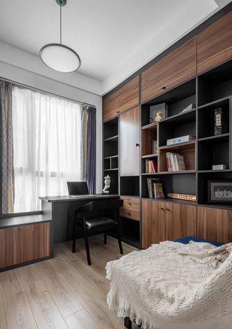 10-15万80平米三室一厅北欧风格书房装修效果图