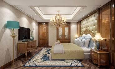 豪华型140平米三室两厅新古典风格卧室图片大全
