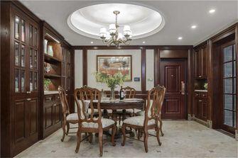 豪华型140平米四室两厅美式风格餐厅装修案例