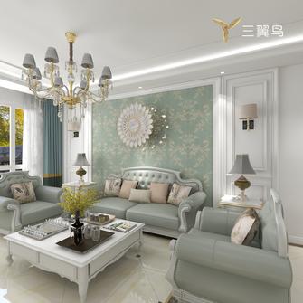 10-15万90平米一居室美式风格客厅装修图片大全
