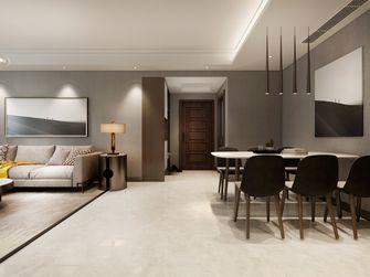 5-10万120平米三室两厅现代简约风格餐厅装修效果图