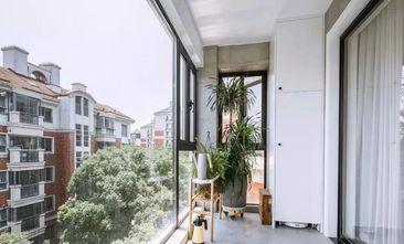 10-15万120平米三室一厅北欧风格阳台欣赏图