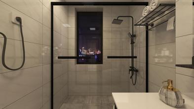 80平米一室一厅现代简约风格卫生间图