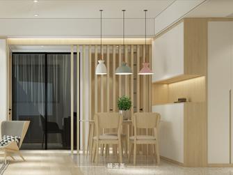 富裕型70平米三日式风格餐厅装修效果图