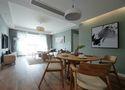 10-15万120平米三室一厅中式风格客厅图