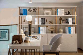 豪华型110平米现代简约风格书房装修图片大全
