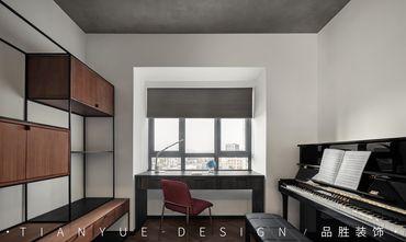 10-15万140平米四室两厅工业风风格书房效果图
