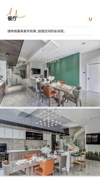 15-20万140平米三现代简约风格餐厅设计图