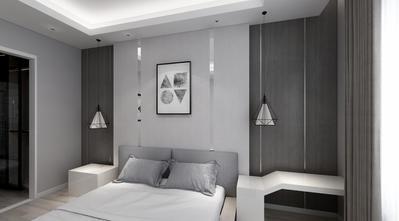 20万以上130平米三室三厅现代简约风格卧室效果图