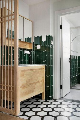 5-10万50平米小户型现代简约风格卫生间设计图
