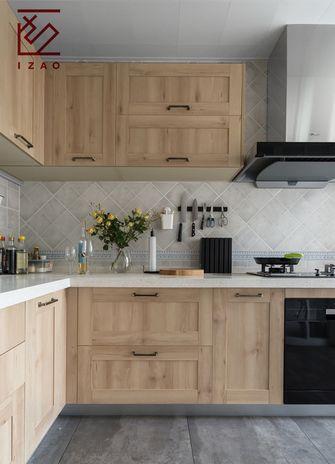 富裕型140平米复式北欧风格厨房欣赏图