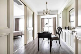富裕型140平米四室两厅美式风格书房装修案例