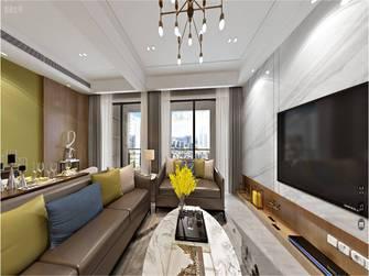 15-20万130平米三室一厅现代简约风格影音室装修效果图